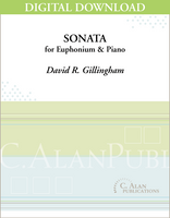 Sonata for Euphonium & Piano [DIGITAL]
