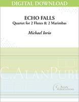 Echo Falls (2 Flutes + 2 Marimbas) [DIGITAL]