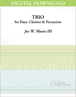 Trio for Flute, Clarinet, and Percussion [DIGITAL]