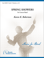 Spring Showers (Band Gr. 2)