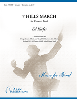 7 Hills March (Band Gr. 2)