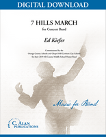 7 Hills March [DIGITAL SCORE ONLY]