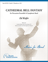 Cathedral Bell Fantasy (Percussion Section Feature w/ Band Gr. 4)