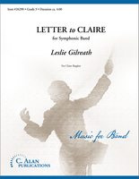 Letter to Claire (Band Gr. 3)