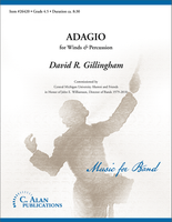 Adagio for Winds and Percussion (Band Gr. 4.5)