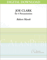 Joe Clark - Robert Marek [DIGITAL]