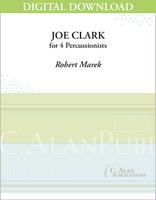 Joe Clark - Robert Marek [DIGITAL SCORE]