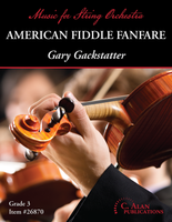 American Fiddle Fanfare (String Orchestra Gr. 3)