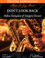 Don't Look Back [DIGITAL SCORE ONLY]