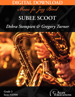 Subee Scoot [DIGITAL SCORE ONLY]