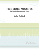 Five More Minutes (Multi-Percussion Duet)