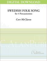Swedish Folk Song - Cort McClaren [DIGITAL SCORE]