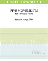 Five Movements - Hsueh-Yung Shen [DIGITAL SCORE]