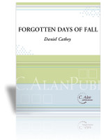 Forgotten Days of Fall (Solo 4-Mallet Marimba)