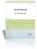 Entourage (Percussion Quartet) - Joe W. Moore [DIGITAL]