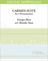 Carmen Suite (Bizet) - Ritsuko Nasu [DIGITAL SCORE]