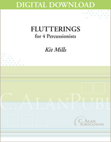 Flutterings - Kit Mills [DIGITAL SCORE]