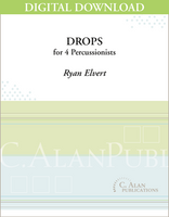 Drops - Ryan Elvert [DIGITAL SCORE]