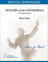 Mystery of the Cathedrals - Brett Dietz [DIGITAL SCORE]