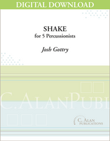 Shake - Josh Gottry [DIGITAL]