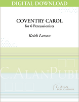 Coventry Carol - Keith Larson [DIGITAL SCORE]