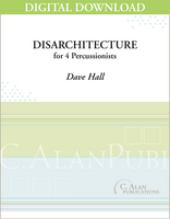 DisArchitecture - Dave Hall [DIGITAL SCORE]