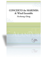 Concerto for Marimba & Wind Ensemble (piano reduction)