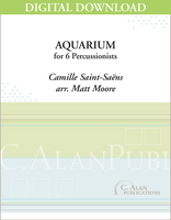Aquarium (Saint-Saëns) - Matt Moore [DIGITAL SCORE]