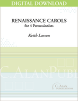 Renaissance Carols - Keith Larson [DIGITAL SCORE]