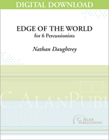 Edge of the World - Nathan Daughtrey [DIGITAL SCORE]