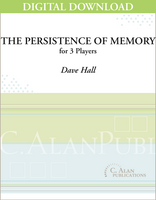 The Persistence of Memory - Dave Hall [DIGITAL SCORE]