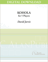 Kohola - David Jarvis [DIGITAL SCORE]