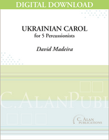 Ukrainian Carol - David Madeira [DIGITAL SCORE]