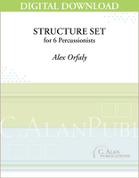 Structure Set - Alex Orfaly [DIGITAL SCORE]