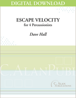 Escape Velocity - Dave Hall [DIGITAL SCORE]