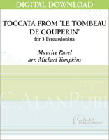 Copy of Toccata from 'Le Tombeau de Couperin' - Michael Tompkins [DIGITAL SCORE]
