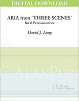 Aria from 'Three Scenes' - David J. Long [DIGITAL SCORE]