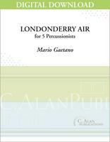 Londonderry Air for Marimba Quintet - Mario Gaetano [DIGITAL SCORE]