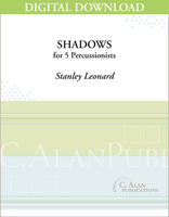 Shadows - Stanley Leonard [DIGITAL SCORE]