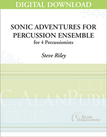 Sonic Adventures for Percussion Ensemble - Steve Riley [DIGITAL]