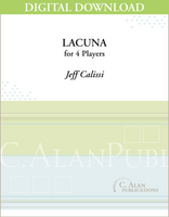 Lacuna - Jeff Calissi [DIGITAL SCORE]