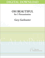 Oh, Beautiful - Gary Gackstatter [DIGITAL SCORE]