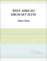 West African Drum Set Suite (Solo Drum Set)