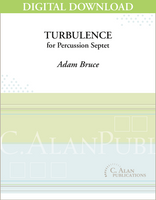 Turbulence - Adam Bruce [DIGITAL SCORE]