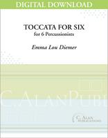 Toccata For Six - Emma Lou Diemer [DIGITAL SCORE]
