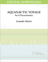 Aquanautic Voyage - Leander Kaiser [DIGITAL SCORE]