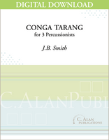 Conga Tarang - J.B. Smith [DIGITAL SCORE]