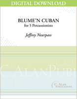 Blume'n Cuban - Jeffrey Nearpass [DIGITAL SCORE]