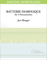 Batterie Diabolique - Jon Metzger [DIGITAL SCORE]