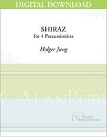 Shiraz - Holger Jung [DIGITAL SCORE]